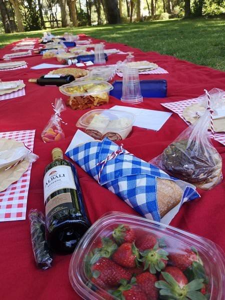 picnics sorpresa para grupos