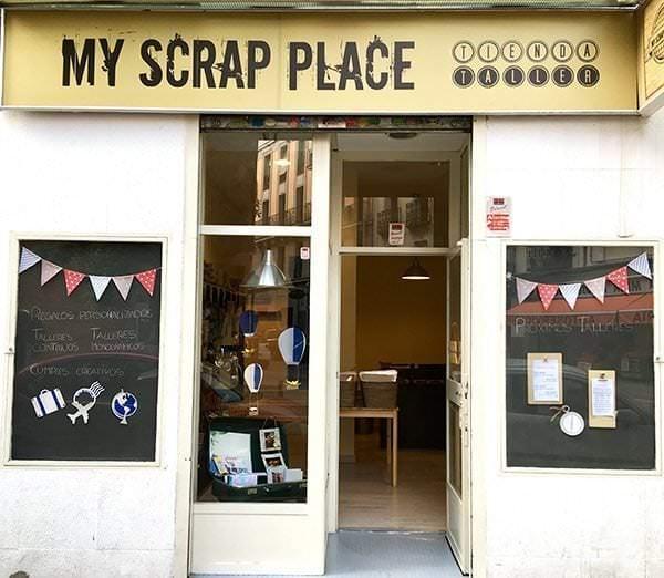 My Scrap Place - Un buen día en Madrid