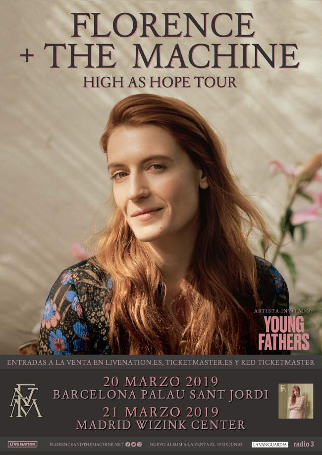 Florence And The Machine vuelve en marzo a Madrid