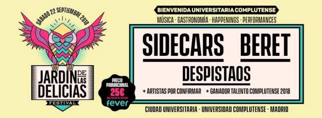 Nace el festival Jardín de las Delicias - Un buen día en Madrid