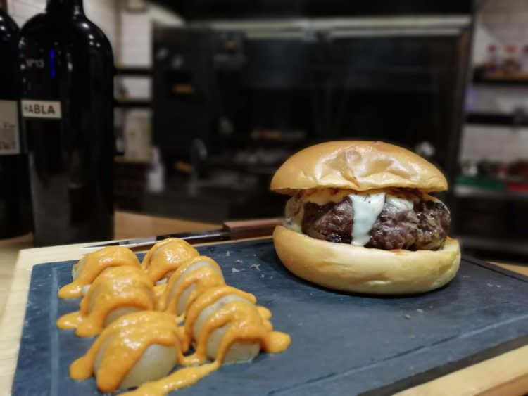 Hamburguesa de Juancho's BBQ