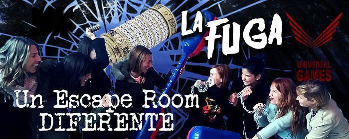 La liga de escape room de universal games
