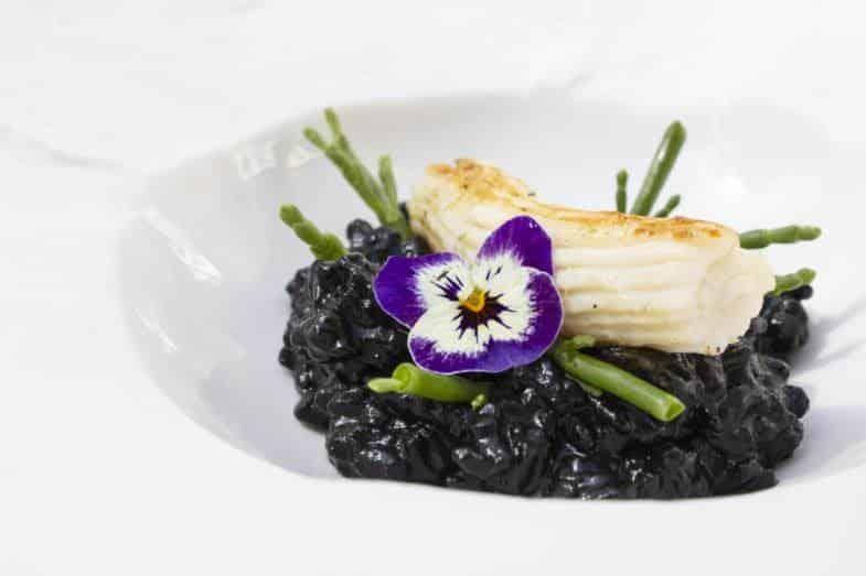Degustación de arroz negro