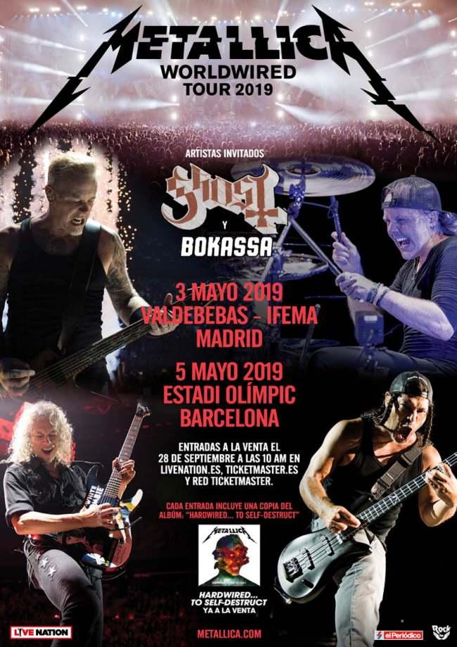 Metallica vuelve a Madrid
