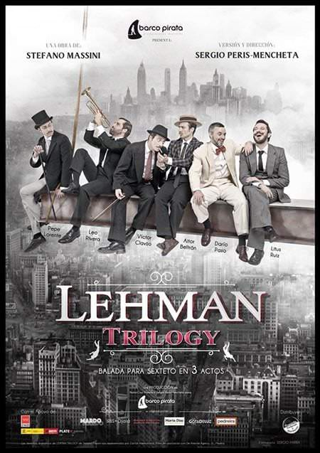 Cartel de Lehman Trilogy