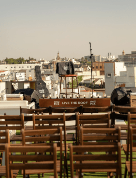 Live the roof crónica - Un buen día en Madrid