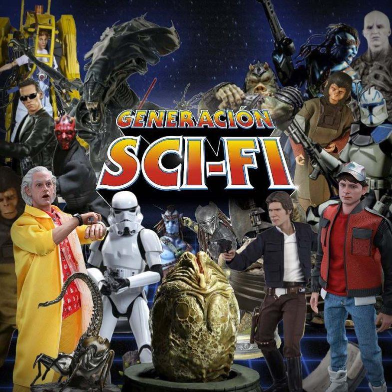 Cartel exposición 'Generación Sci-Fi'