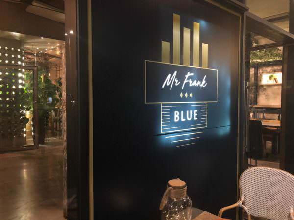 Mr. Frank Blue - Un buen día en Madrid