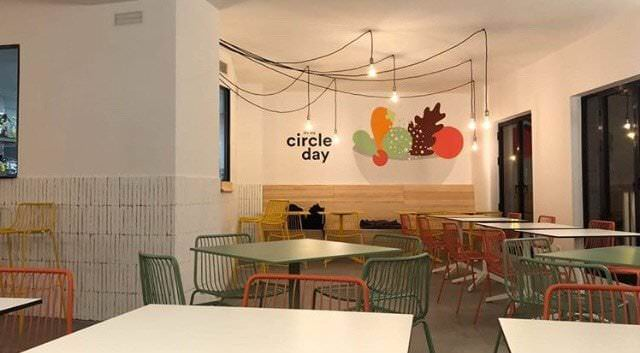 The Circle Food espacio coworking. Foto: Instagram @thecirclefood_