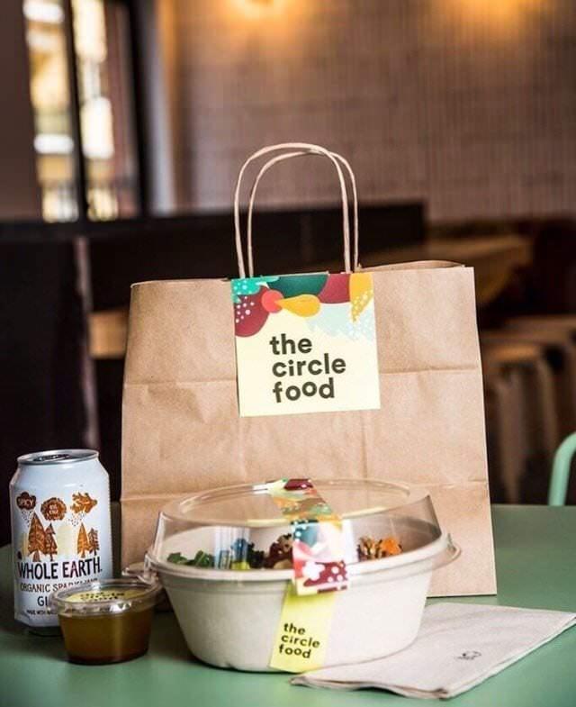 The Circle Food take away. Foto: Instagram @thecirclefood_