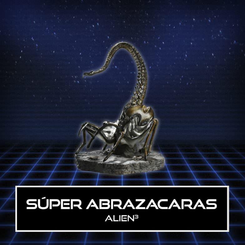 Alien. Pieza de la exposición.