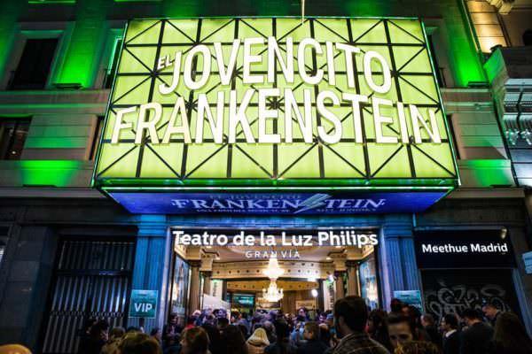 El jovencito Frankenstein - Un buen día en Madrid