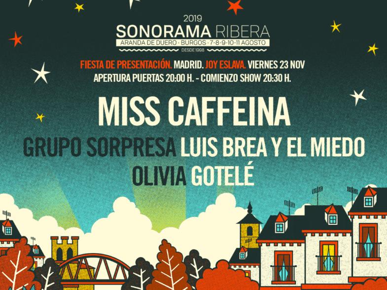 Fiesta de presentación Sonorama 2019 - Un buen día en Madrid