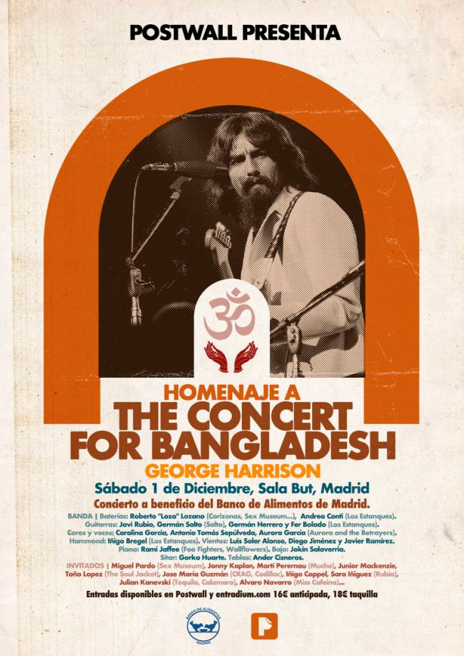 Homenaje a The concert for Bangladesh en Madrid