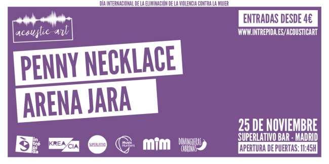 Acoustic Art Día Internacional de la Eliminación de la Violencia contra la Mujer