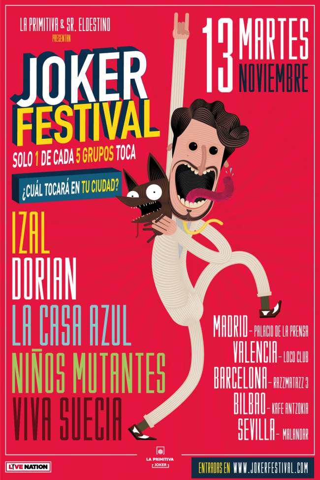 Llega el Joker Festival
