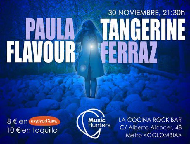 Paula Ferraz y Tangerine Flavour