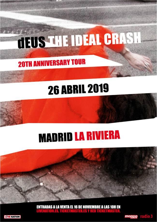 Concierto dEUS en Madrid