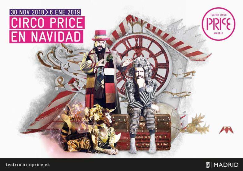 Circo Price en Navidad - Un buen día en Madrid