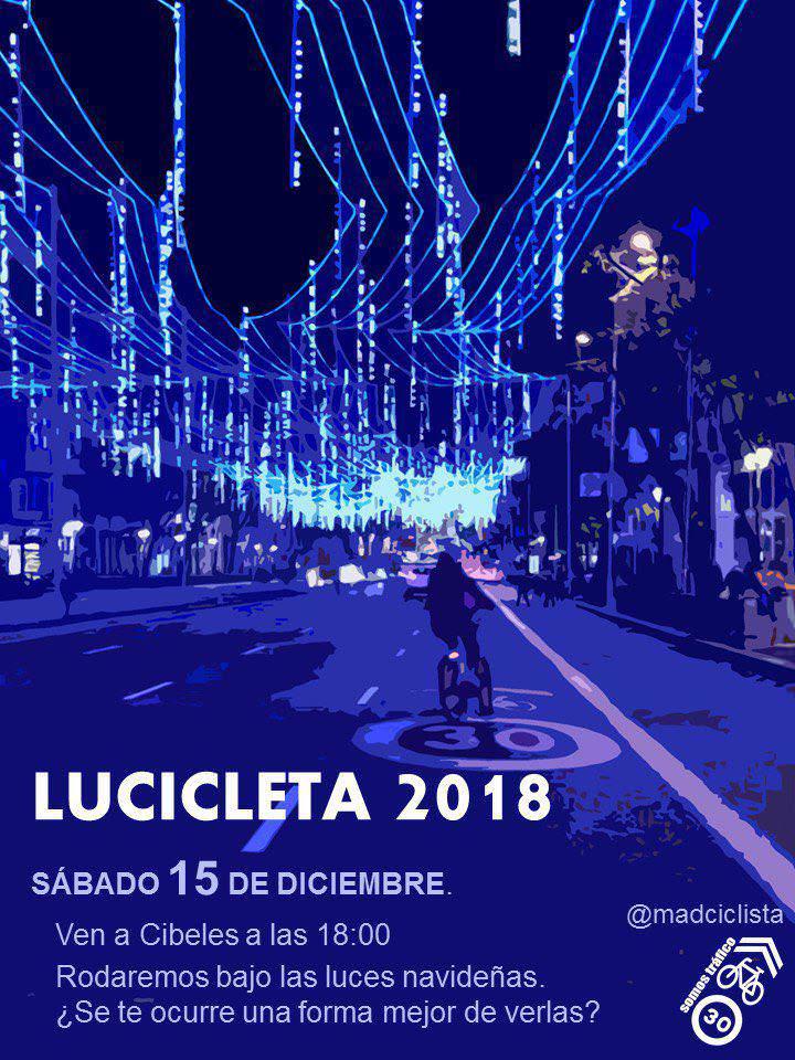 La Lucicleta - Un buen día en Madrid