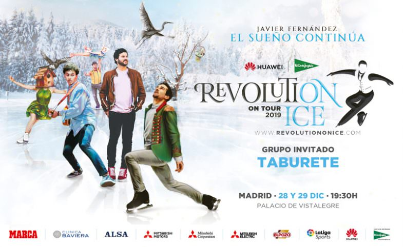 Revolution on Ice - Un buen día en Madrid