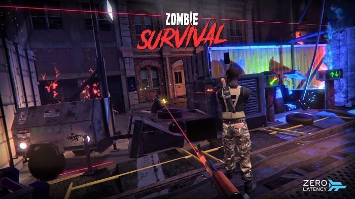 realidad virtual zombies y amigos