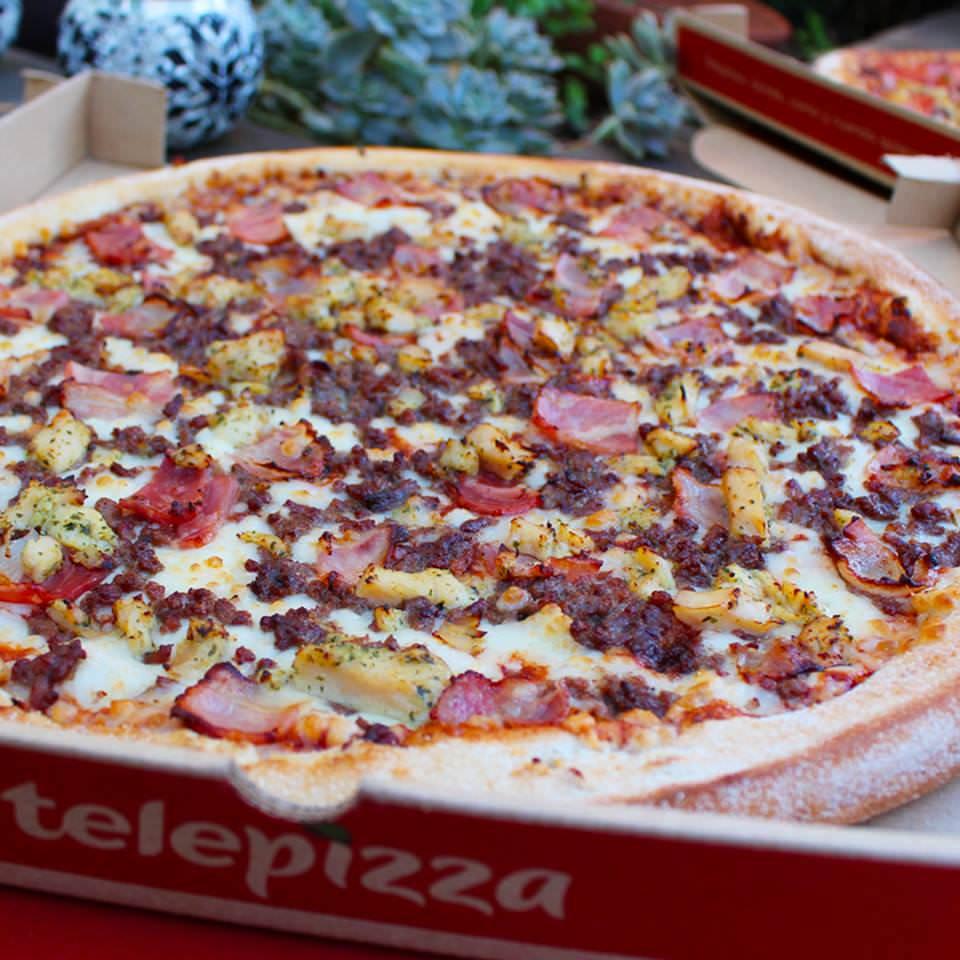 Una pizza para febrero 2019