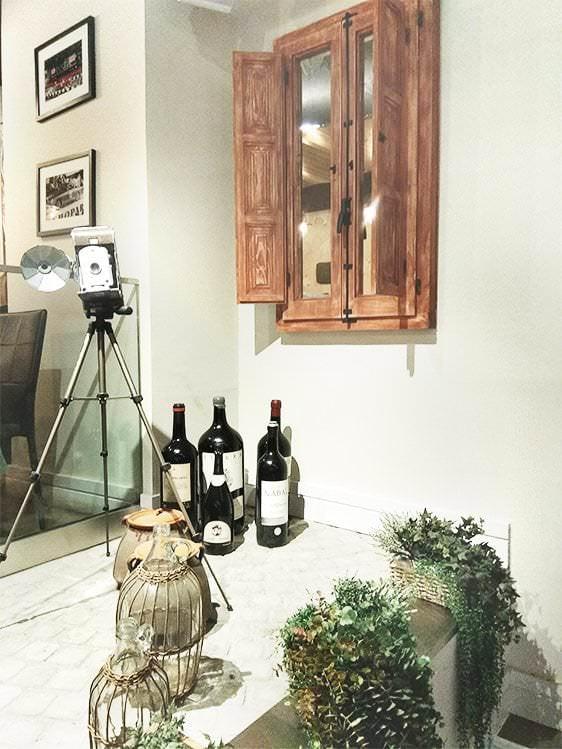 Decoración Italiana en Trattoria Don Lisander