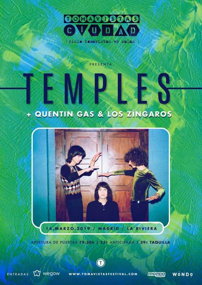 Temples regresan a Madrid