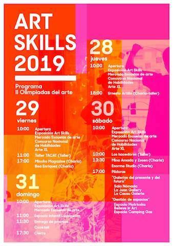 Art Skills 2019 - Un buen día en Madrid