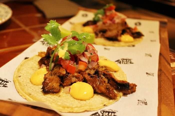 Tacos solomillo Santita