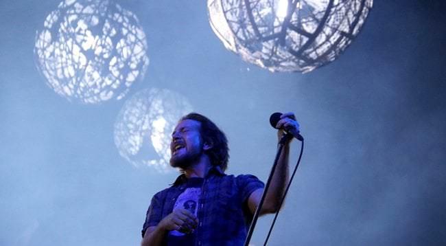 Eddie Vedder llega en concierto a Madrid