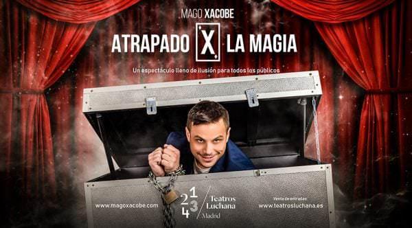 Atrapado X la magia - Un buen día en Madrid
