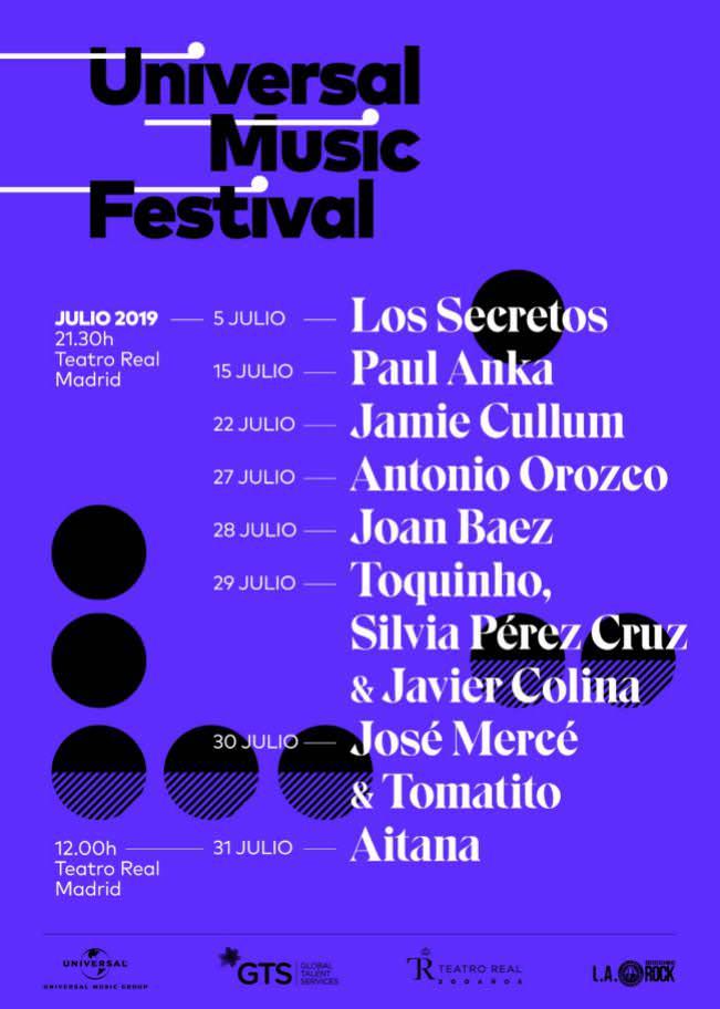 Universal Music Fest 2019