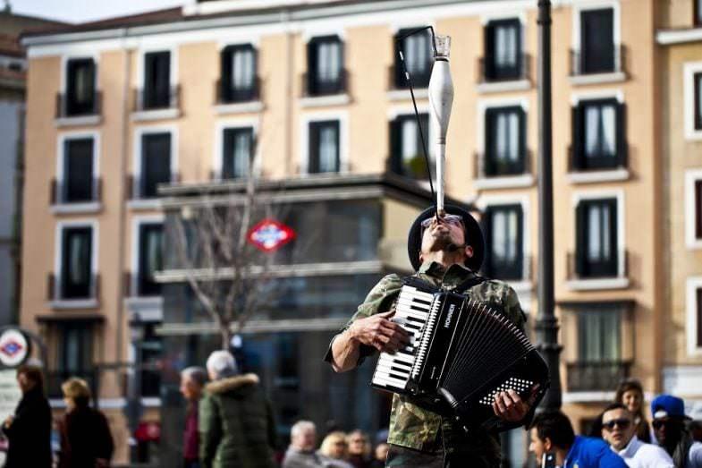 CHIQUICIRCO - Un buen día en Madrid