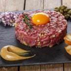 Steak Tartar al gusto. Foto: Instagram Doña Tecla