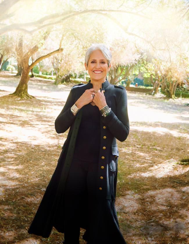 La mítica cantante folk Joan Baez