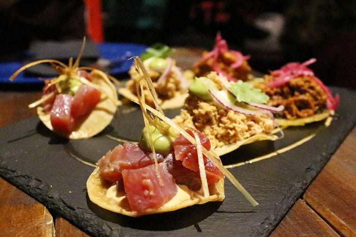 Tacos atun La Diavla