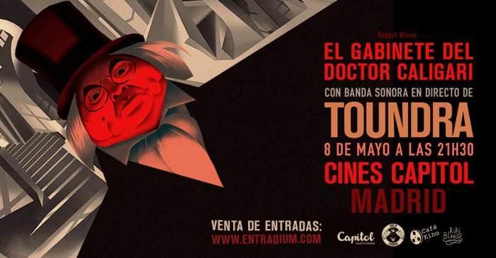 Gabinete Doctor Caligari - Toundra - Capitol