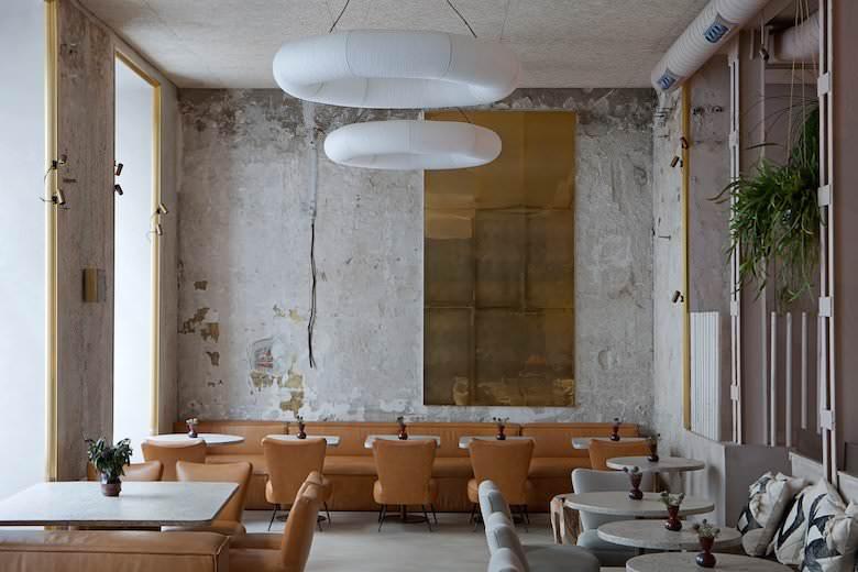 Interior del local diseñado por Madrid in love Studio