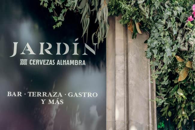 Bienvenido a Madrid Jardín Cervezas Alhambra