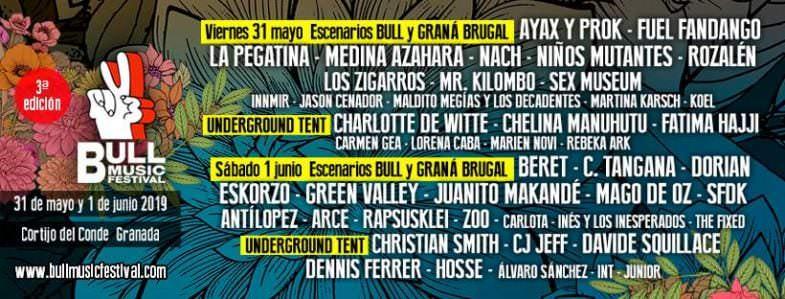 Bull Music Festival Granada - Un buen día en Madrid