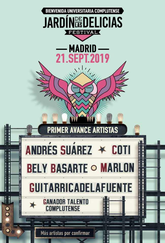 Segunda edición del festival Jardín de las delicias