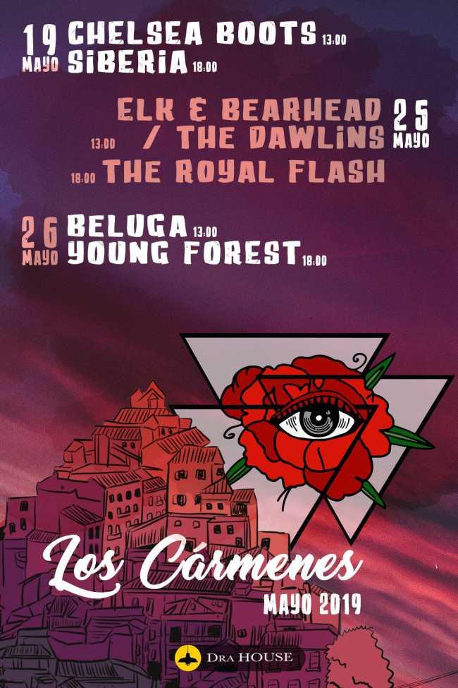 Live In Los Carmenes llega a Madrid