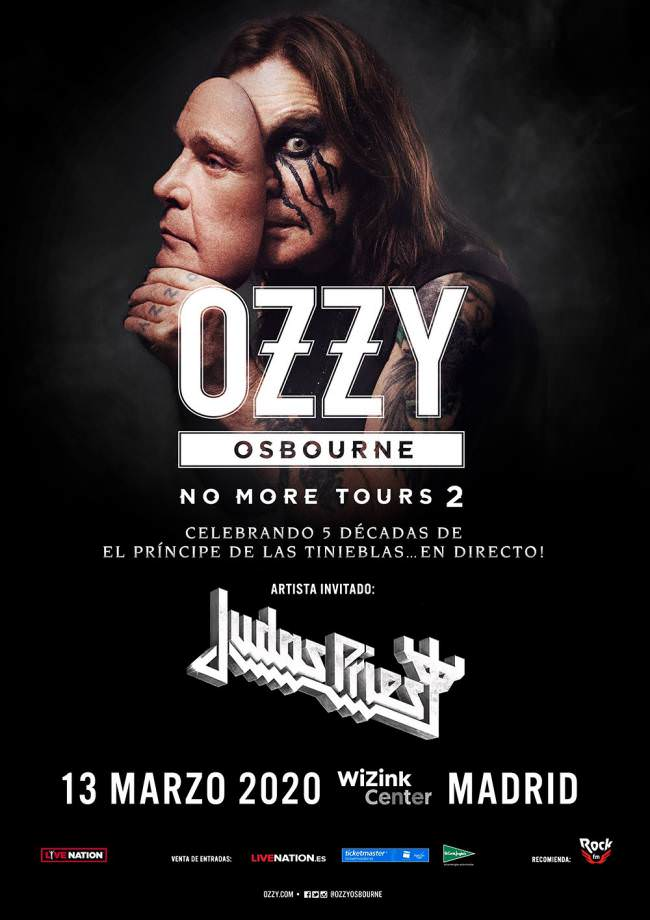 Ozzy Osbourne en concierto