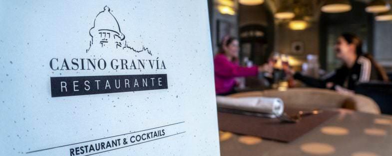 Restaurante Casino Gran Vía - Un buen día en Madrid