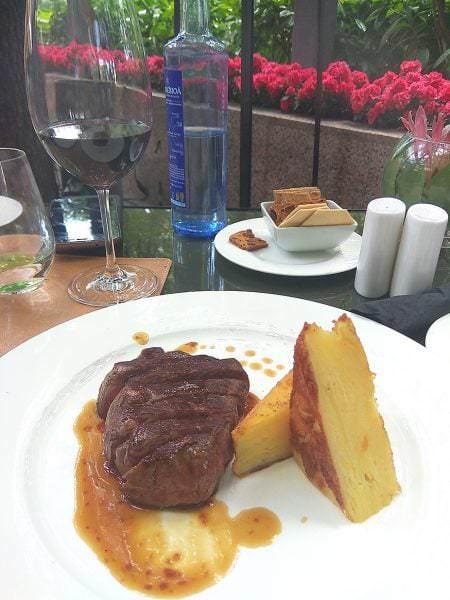 Solomillo con patata