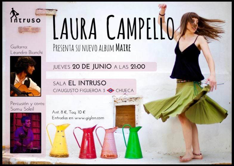 """""""Maire"""" de Laura Campello - Un buen día en Madrid"""