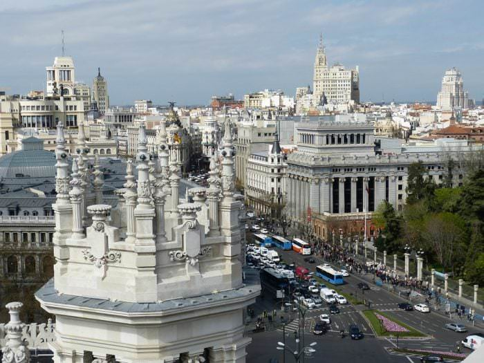 madrid turismo y pasajeros