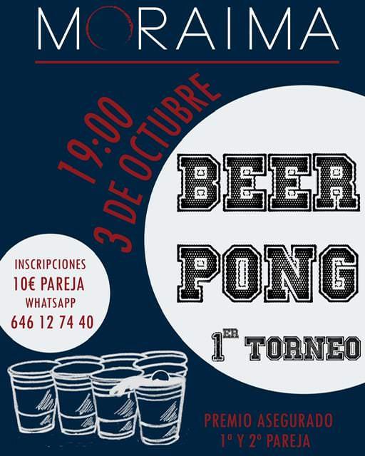 Torneo de Beer Pong en Moratalaz - Un buen día en Madrid